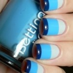 Cute Polish Stripes Nail Design