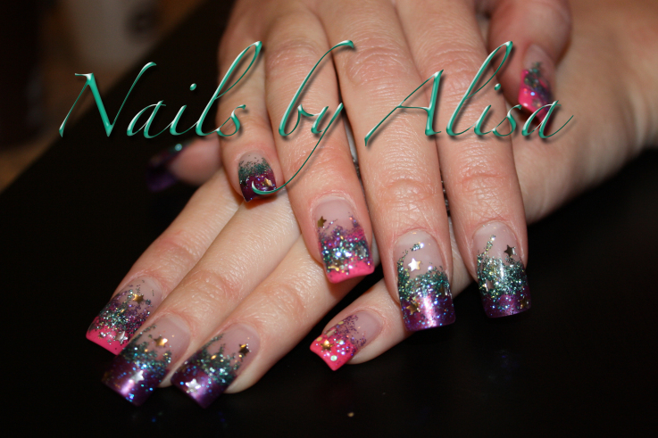 Club Night Nail Design