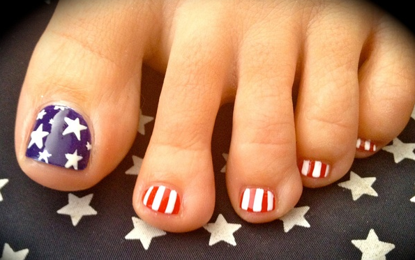 Cool Toes Design For Upcoming Presidential Election