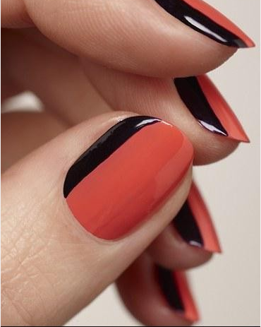 New Way of Creating Colored Tips for Your Nails