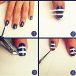 Pictorial Example of Creating Nail Art