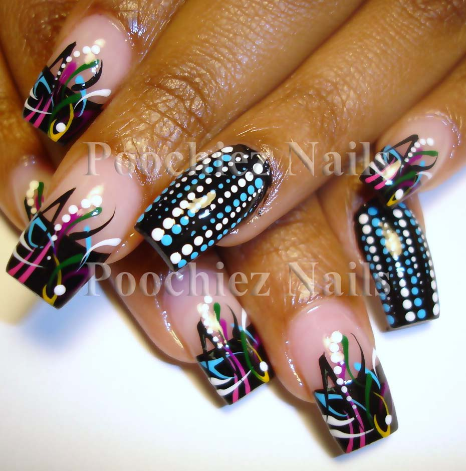 New acrylic nail designs nail designs hair styles tattoos and votes average 438 out of 5 cool and new acrylic nails designs 2013 prinsesfo Choice Image