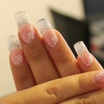 See Through Glass Style Nail Art
