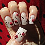 Lady Bugs Fun Nail Designs