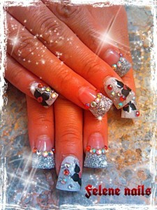 Pretty Nail Art From Sukie Medina