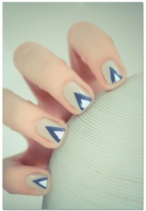 Pyramid Icon Nail Design