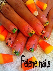 New Halloween Nail art Design