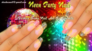 New Year Party Nail Design