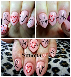 Fun Nail Art for Valentine's Day