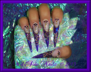 Nail Designs For Queens
