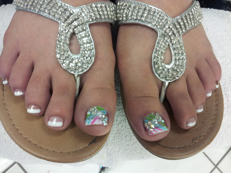Cute and Comfortable Looking Toe Design
