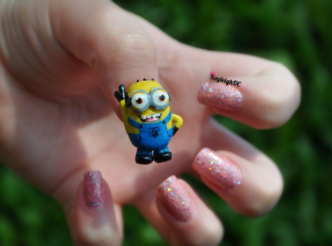 Despicable Minion Nail Art