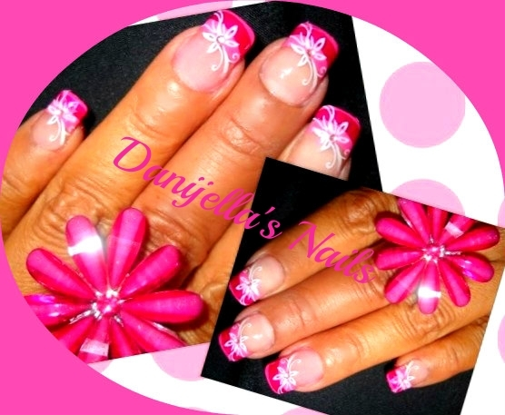 Sexy Flower for Nail Art