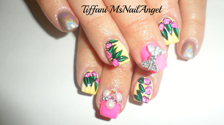 Super Girly Nail Art