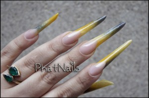 Phat narrow long nails