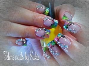 Cute Party Nail Art