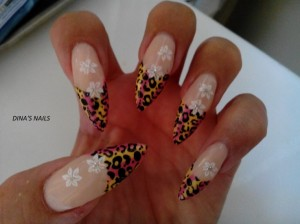 Pretty Sculpted Nail Art
