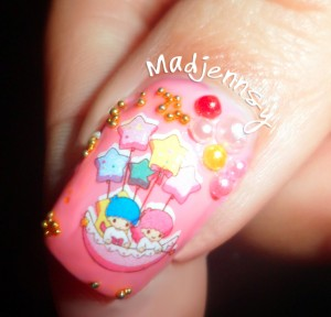 Birthday Japanese Nail Art