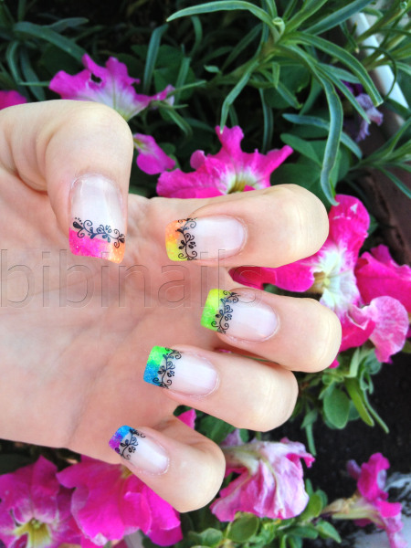 Joyful Looking Nail Art
