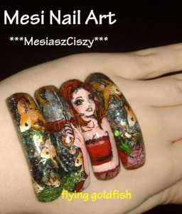 Photo Scene on Nails