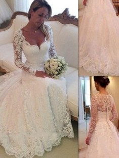 Wedding Dress, Buy 2017 Cheap Bridal Dresses Online Sweden at Hebeos